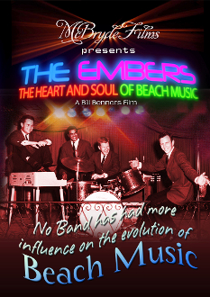 The Embers DVD - Heart and Soul of Beach Music